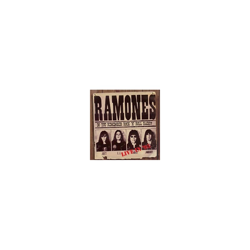 Ramones - Do You Remember Rock 'N' Roll Radio? / Let's Go