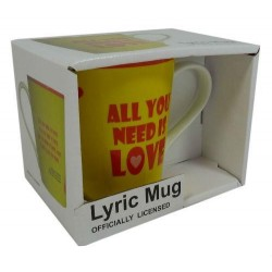 Beatles-All You Need Is Love Lyric Mug (Tazza)
