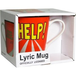 Beatles-Help! Lyric Mug (Tazza)