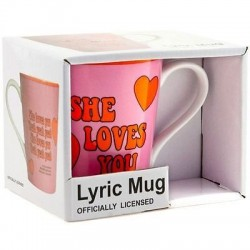 Beatles-She Loves You Lyric Mug (Tazza)