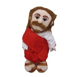 Gadget / Merchandise-Little Thinker Jesus Plush Doll (Pupazzo)
