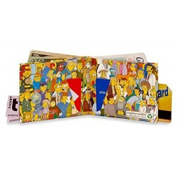 Simpsons-Simpsons Cast Mighty Wallet (Original Tyvek)
