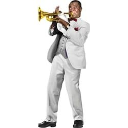 Louis Armstrong-Louis Armstrong Quotable Notables Stickers Included (Biglietto D'Auguri)