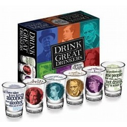 Gadget / Merchandise-Drink With The Great Drinker (Shot Glass Set)