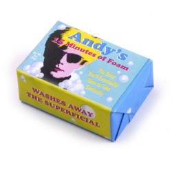 Andy Warhol-Andy's 15 Minutes Of Foam Hand Soap (Sapone)