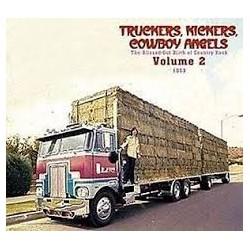 Rock Artisti Vari - Truckers,Kickers, Cowboy Angels Vol.2 1969