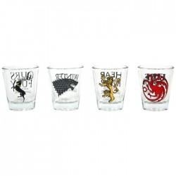 Game Of Thrones-Shot Glasses Set (Set Bicchierini)