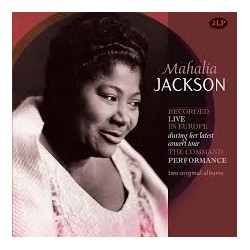 Mahalia Jackson-Recorded Live In Europe