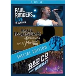 Paul Rodgers & Bad Company-Live In Glasgow+Live At Montreux 1994+ Bad Co Live At Wembley