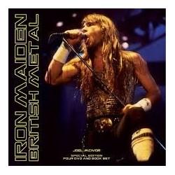 Iron Maiden-British Metal (4Dvd+Book Set)