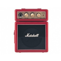 Amplificatori-Marshall Amplification MS-2R Red Micro Amp