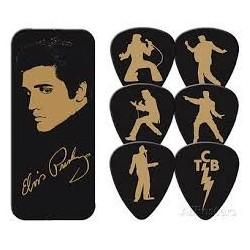 Elvis Presley-Elvis Presley Collectible Guitar Picks (Set di Plettri da Collezione)