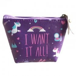 Gadget / Merchandise-Enchanted Rainbows Unicorno Portamonete